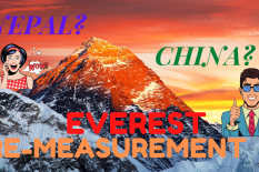 Nepal and China has officially announced the New Height 8848.86M of Mount Everest !