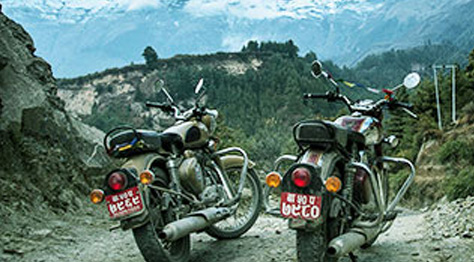 Best time for Biking in Nepal