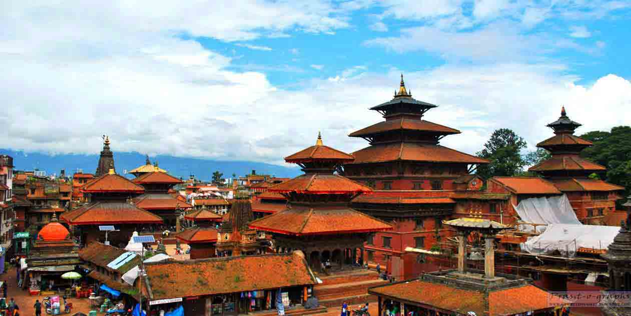 Sightseeing tour in Nepal