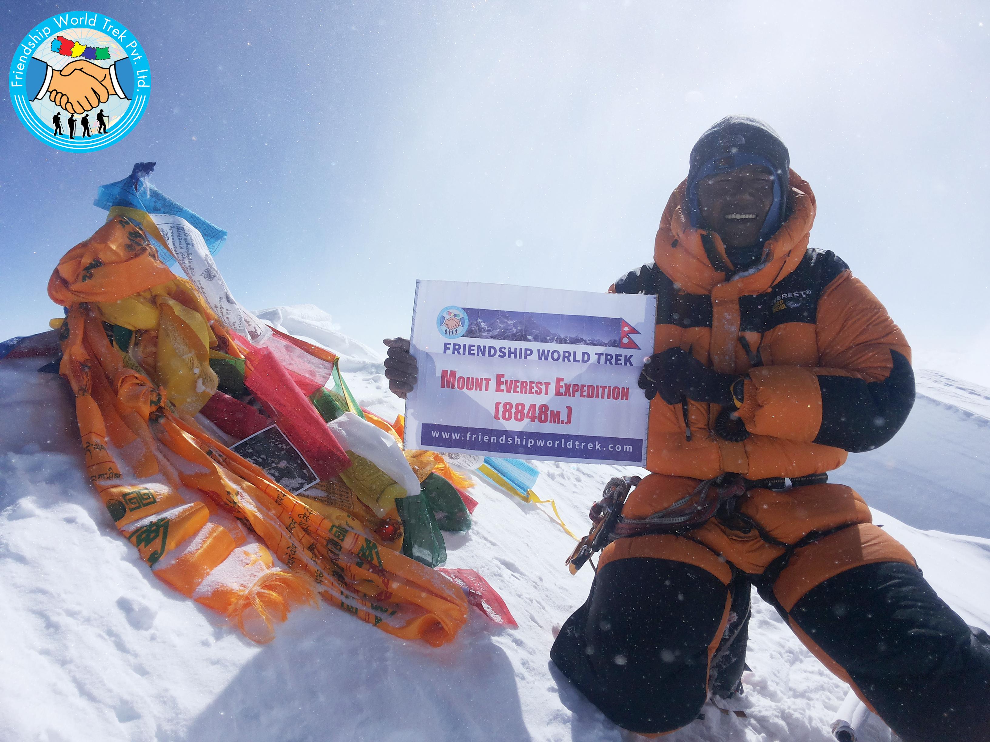 Mount Everest Summit 8848M