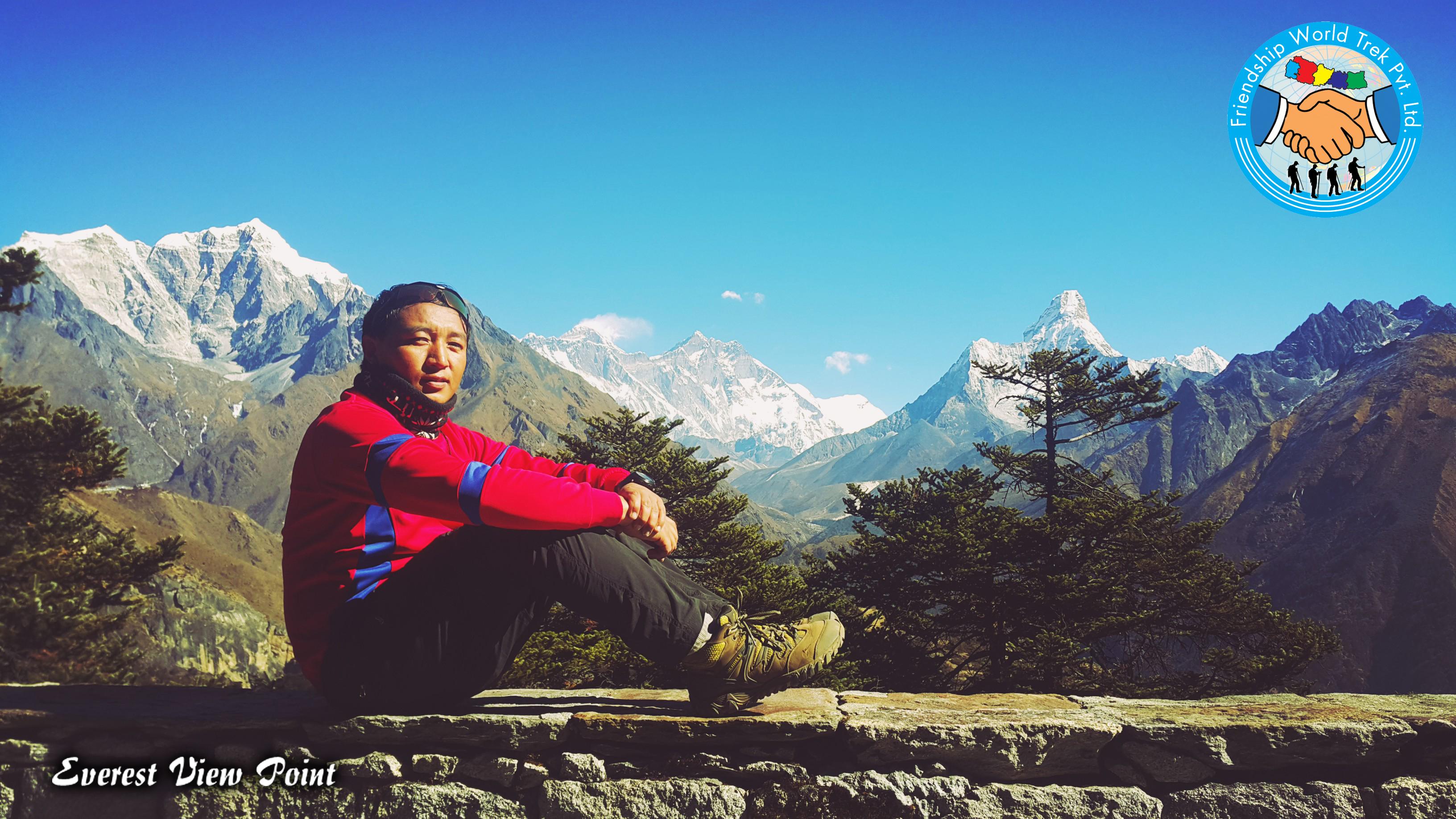 Everest Summit View