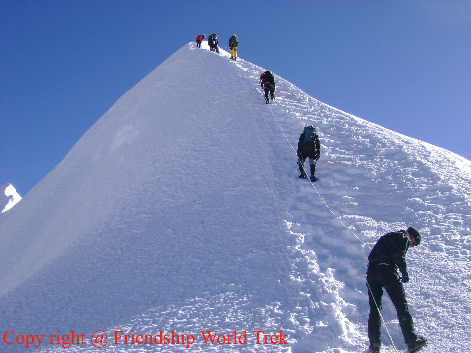 Peak climbing Courses